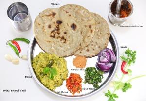 bhakri thali