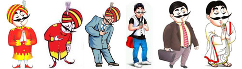 Image result for air india maharaja