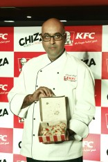 Praneet Singh_Chief Food Innovation Officer_KFC India unveils the Chizza