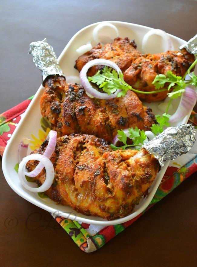 chicken tandoori recipe...
