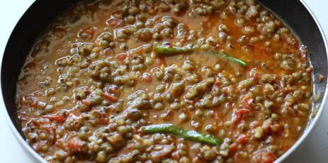 green-moong-dal-recipe-addding-water